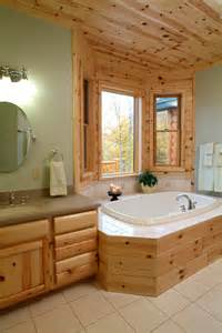 Country Kitchen Remodeling Ideas knotty pine master bathroom rustic bathroom other