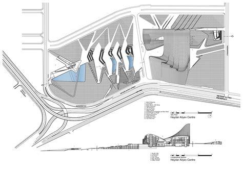 zaha hadid section gallery of heydar aliyev center zaha hadid architects 39