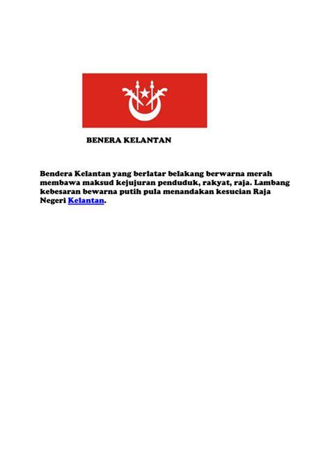 Minahasa Negeri Rakyat Dan Budayanya bendera malaysia mengandungi 14 jalur merah dan putih