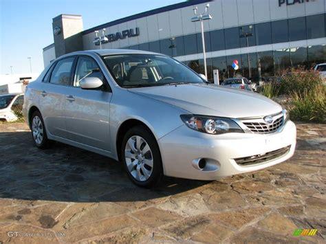 silver subaru impreza 2009 spark silver metallic subaru impreza 2 5i sedan