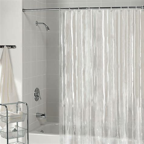 Hanging Shower Curtain by Proper Way To Hang A Shower Curtain Liner Curtain
