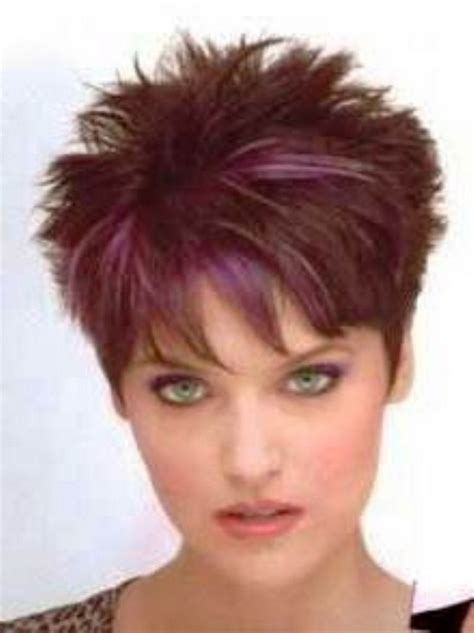 short spiky haircuts for round face women womens short short spiky haircuts for women over 50 hairs picture gallery