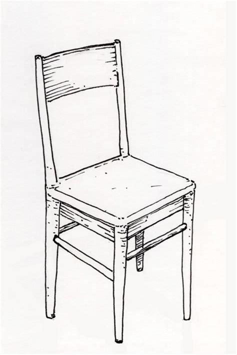 dessin de chaise les dessins de daniel une chaise a chair