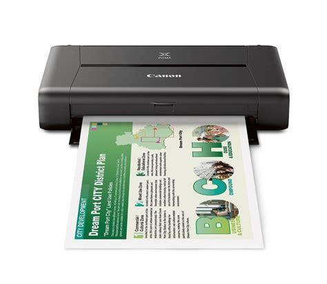 wireless mobile canon pixma ip110 wireless mobile printer with airprint tm