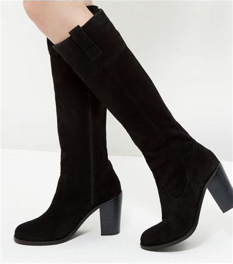 knee high boots womens high leg boots new look