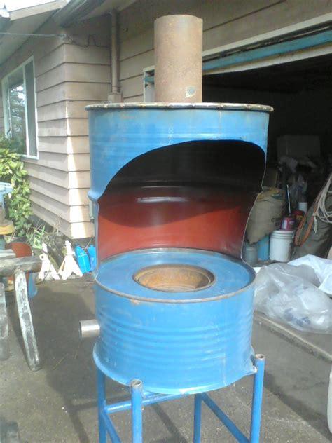 build   gallon drum wood stove plans