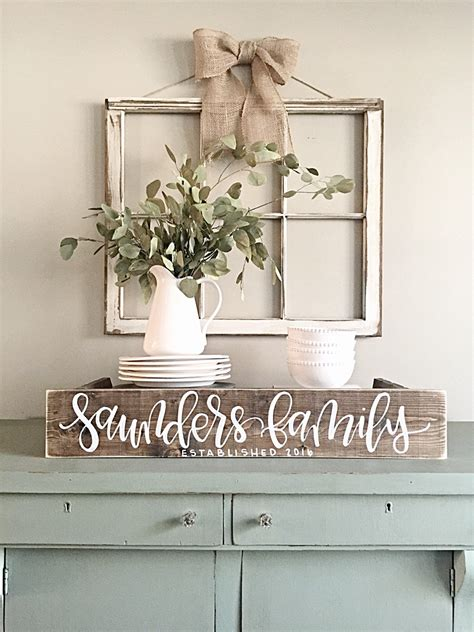 home decor sign last name sign rustic home decor wedding established