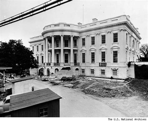 white house reconstruction white house gutted see what it looked like ripped up from head to toe photos