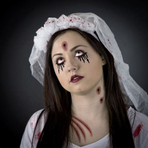 zombie bride face paint step by step dealz
