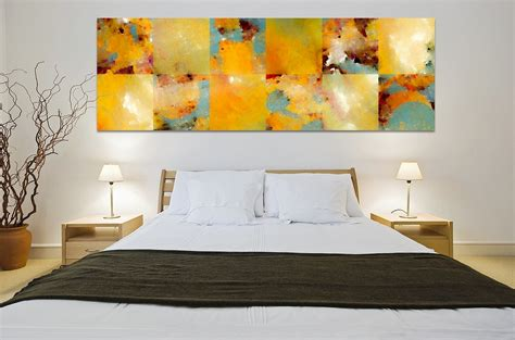 modern bedroom art home decorating with modern art