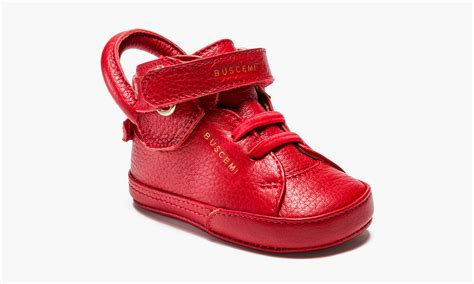 new born sneakers buscemi 100mm baby shoes highsnobiety