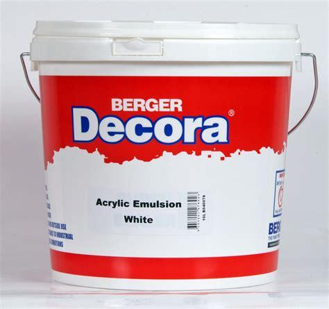 Waterproof Acrylic Emulsion Paint 18kg berger malta