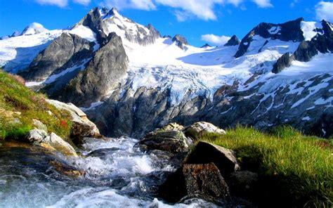 hd mountain stream wallpaper