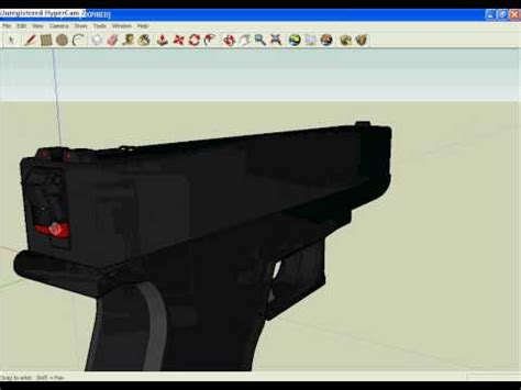 google sketchup gun tutorial google sketchup guns models
