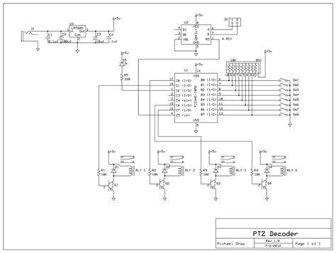 rs 485 wiring diagram for ptz ler 41 wiring