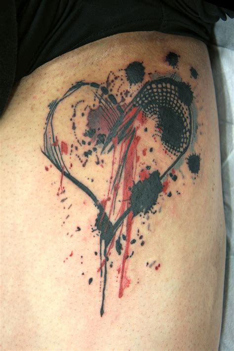 broken heart tattoos 13 broken designs ideas design trends