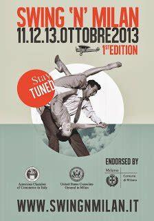 Swing In Milan by Da Venerd 236 11 A Domenica 13 Ottobre Lo Swing A