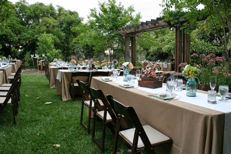inexpensive backyard wedding backyard wedding ideas on a budget