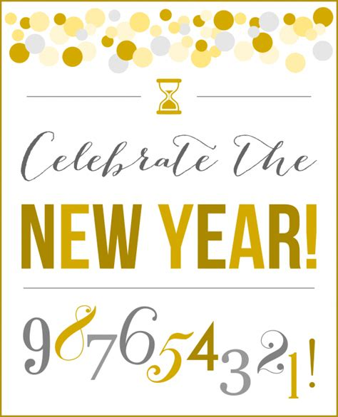new year printable pictures free new year s printables free printables
