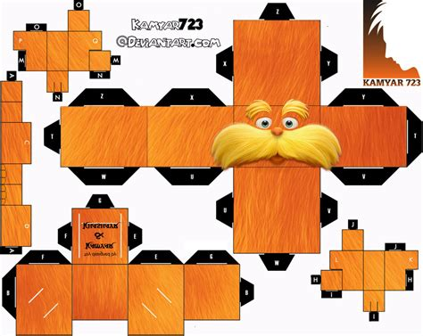 D D Papercraft - loarx cubeecraft by kamyar723 on deviantart