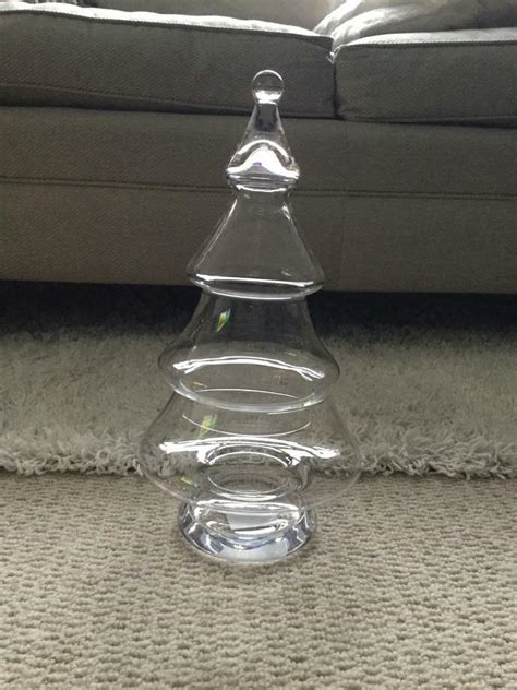 chridtmas tree glass jar cox and cox large glass tree jar in chandlers ford hshire gumtree