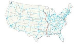 us highway map u s highway 61 wikiwand