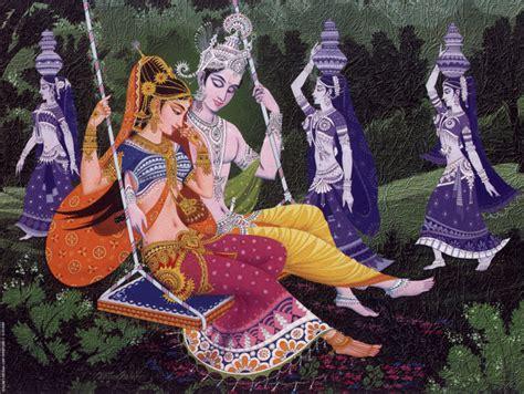 radha krishna swing radha krishna on swing