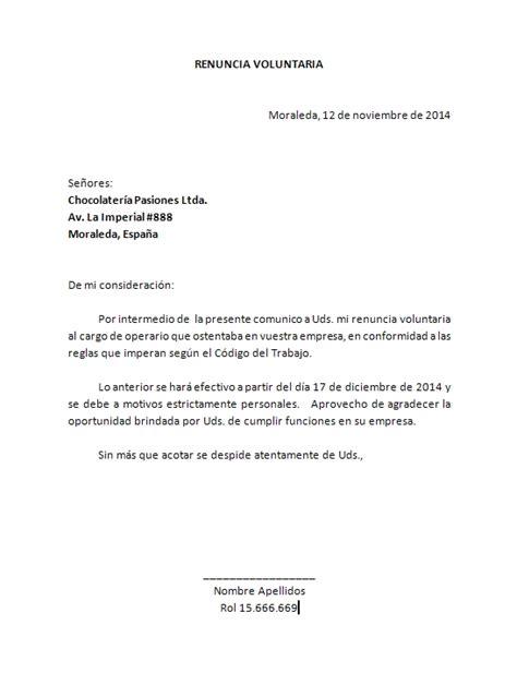 renuncia empleada domestica en mexico word descarga formato para carta de renuncia