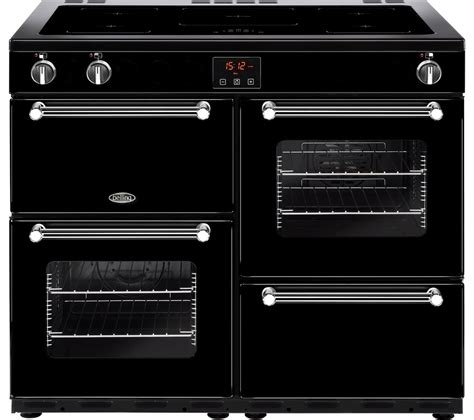 oven electric range with induction cooktop buy belling kensington 100ei electric induction range