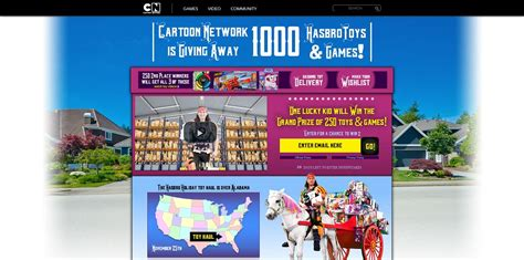 Cartoon Network Sweepstakes 2014 - cartoon network hasbro holiday sweepstakes cartoonnetwork com win win the grand