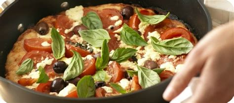 stovetop pizza gourmet italian stove top pizza saute pan recipes