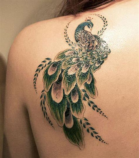 54 absolutely eye catching peacock tattoo designs you ll