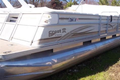 sle bill of sale for boat used pontoon crest boats for sale 3 boats