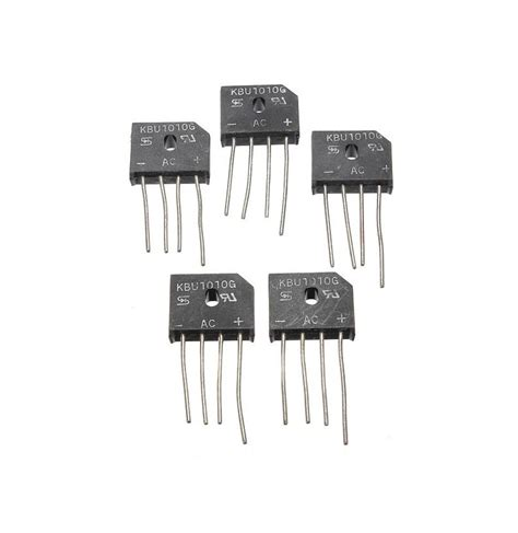 rectifier diode ic 20pcs 10a 1000v kbu1010 single phases diode rectifier bridge ic chip