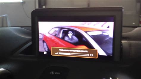 format video audi mmi audi a1 ami rca cable video in demonstration rmc mmi