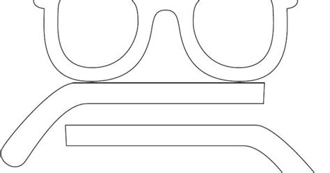 summertime game sunglasses template cut glasses in half