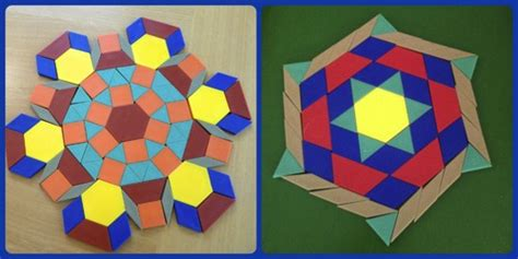 pattern block tessellations exles free worksheets 187 tessellation pattern blocks worksheets