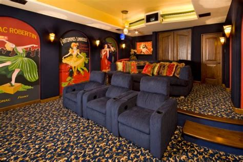 movie theater themed home decor 35 modern media room designs that will blow you away