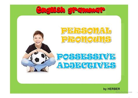possessive adjectives ppt worksheet free esl projectable