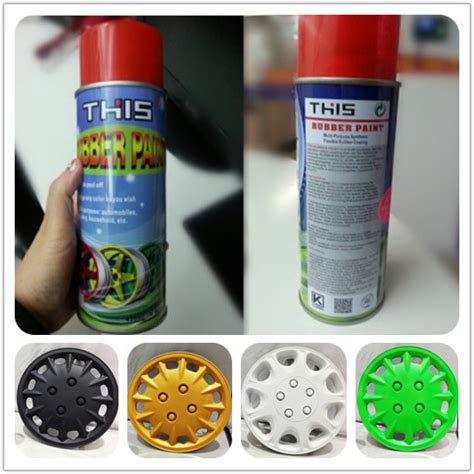 Rainbow Dip Rubber Paint wholesale removable liquid rubber spray paint plastic dip