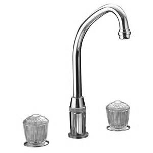Elkay Kitchen Faucet Elkay Lkda2437 Polished Stainless Steel Two Handle