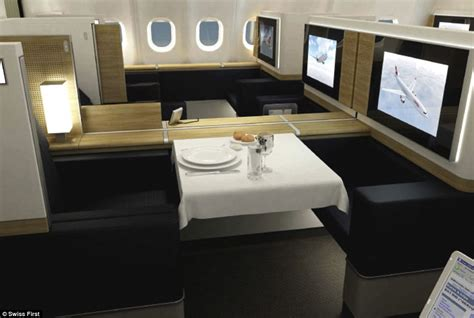Swiss Airlines Interior by Caviar Fizz On Tap And In Flight Showers The Best
