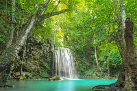 erawan national park kanchanaburi province thailand