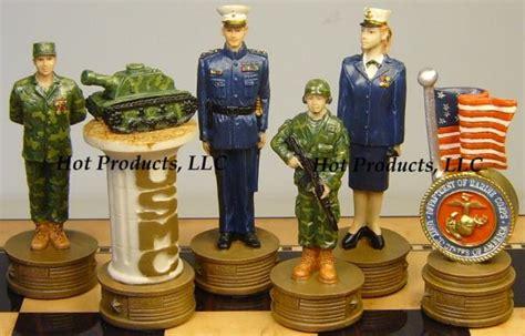 Set Morinie Navy us army chess set