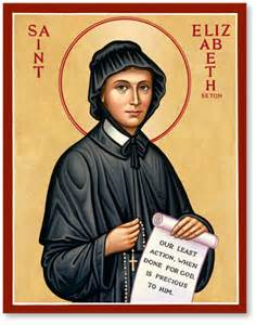 women saints st elizabeth seton icon monastery icons
