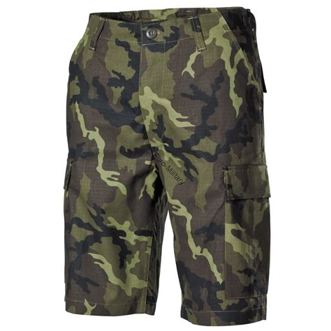 army pattern shorts military outdoor clothing cz army m95 camo pattern