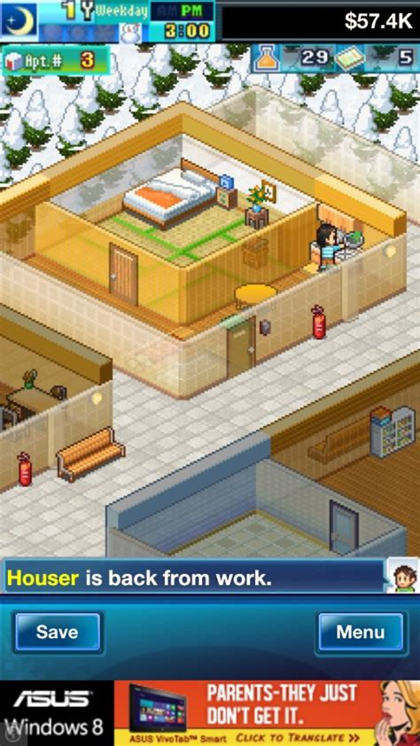 dream house days now you can live your dream of being a landlord in kairosoft s dream house days