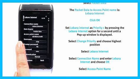 lyca mobile net settings how to set up on a nokia smartphone using lebara