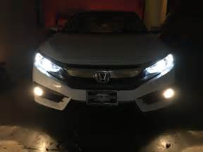 Honda Civic Led Lights 2016 Civic Ex L Led Fog Lights Upgrade
