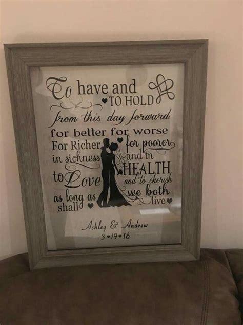 Mahar Siluet Wedding Sign Wedding Gift 1 wedding float frame mirror image vinyl mirror image cricut and silhouettes